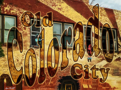 Old Colorado City mural